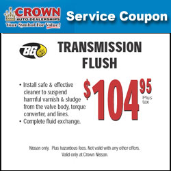 Crown nissan coupons