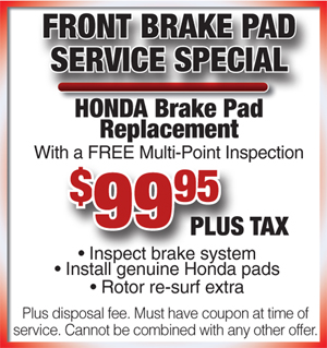 Honda cars of bradenton service coupon for Honda oil change printable coupon